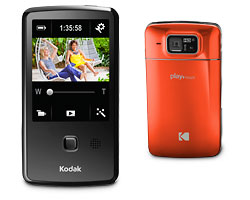 KODAK PLAYTOUCH Video Camera / Orange