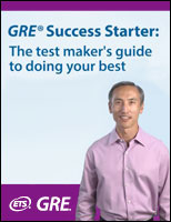 GRE® Success Starter: The test maker's guide to doing your best
