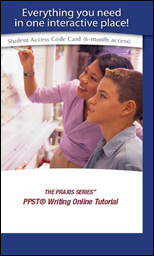 PPST Writing Online Tutorial, (5720, 0720), Six-Month Subscription
