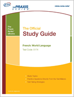 French: World Language Study Guide  - Includes Audio File (5174) eBook