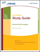 German: World Language Study Guide - Includes Audio File (5183) eBook