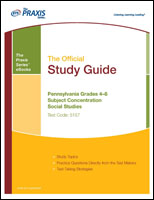 Pennsylvania Grades 4–8 Subject Concentration: Social Studies (5157) eBook