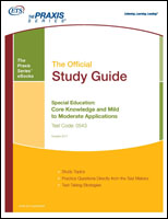 Special Education: Core Knowledge and Mild to Moderate Applications Study Guide, Rev 2011 (5543) eBook