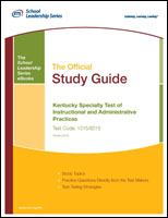 Kentucky Specialty Test of Instructional and Administrative Practices, Rev 2012 (1015, 6015) eBook