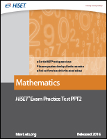 Mathematics: Practice Test PPT2 eBook