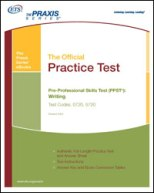 Praxis I (PPST) Writing Practice Test, Rev 2009 (5720) eBook