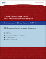 Practice Question eBook for the TExES™ English as a Second Language Supplemental, Rev 2011 (Test Code 154)