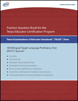 Practice Question eBook for the TExES™ Bilingual Target Language Proficiency Test (BTLPT) Spanish – Includes Audio Files (Test Code 190)