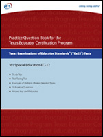 Practice Question eBook for the TExES™ Special Education EC-12 (Test Code 161)