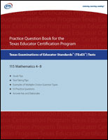 Practice Question eBook for the TExES™ Mathematics 4-8 (Test Code 115)