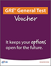 GRE® General Test Voucher