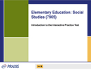Elementary Education: Social Studies (7905), 90-Day Subscription