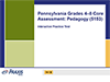 Pennsylvania Grades 4-8 Core Assessment: Pedagogy (5153), 90-Day Subscription