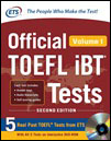 Official TOEFL iBT® Tests Volume 1, Second Edition