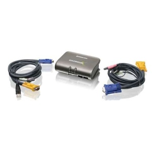 MiniView™ Extreme Multimedia KVMP Switch w/Cables