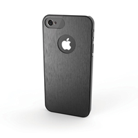 Aluminum Finish Case for iPhone 5/5s - Black
