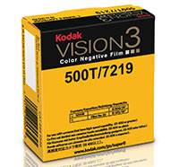 KODAK VISION3 500T Color Negative Film 7219 / 50 ft Super 8 Cartridge, Catalog # 8955346