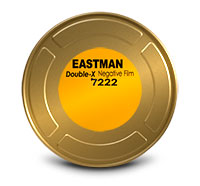 EASTMAN DOUBLE-X Black & White Negative Film 7222 / 16 mm x 400 ft / On Core / Winding B / 1R-2994, Catalog # 1737543