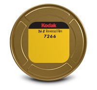 KODAK TRI-X Reversal Film 7266 / 16 mm x 400 ft / On Core / Winding B / 1R-2994, Catalog # 8602377