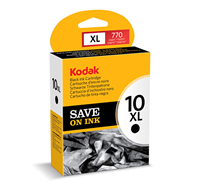KODAK Black Ink Cartridge, 10XL