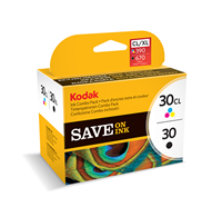 KODAK Ink Combo Pack, 30 Black + 30CL Colour