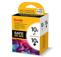 KODAK Ink Combo Pack, 10B + 10C