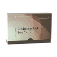 Leadership Architect® Sort Card Deck 5th Edition—9 languages available