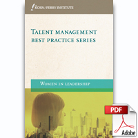 Talent Management Best Practice Series: Women in Leadership (PDF)