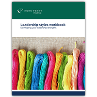 Leadership Styles Workbook - 10 PK