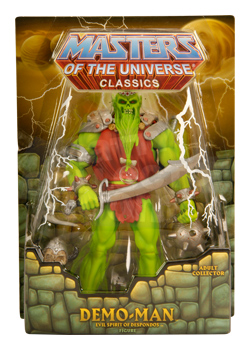 Masters of the Universe Classics: Demo Man Action Figure