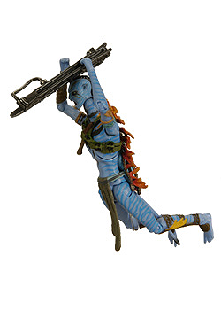 <b>The Final Battle — Avatar Jake Sully vs Colonel Miles Quaritch Figures</b>