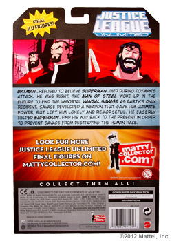 <strong>3-Pack Featuring<em> Vandal Savage / Batman™ / Future Superman™</em></strong>