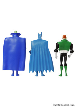 3-Pack  Featuring<strong><em> Guy Gardner / Martian Manhunter / Batman™ Classic Detective™ </em></strong>Figures