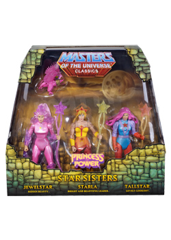 Masters of the Universe Classics: Star Sisters Action Figure Set