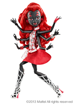 <strong> Monster High ™ Webarella ™ </ strong>