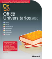 Microsoft Office Universitarios 2010