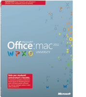 Microsoft Office per Mac University 2011