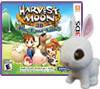 Harvest Moon 3D: The Lost Valley w/Premium Plush Rabbit