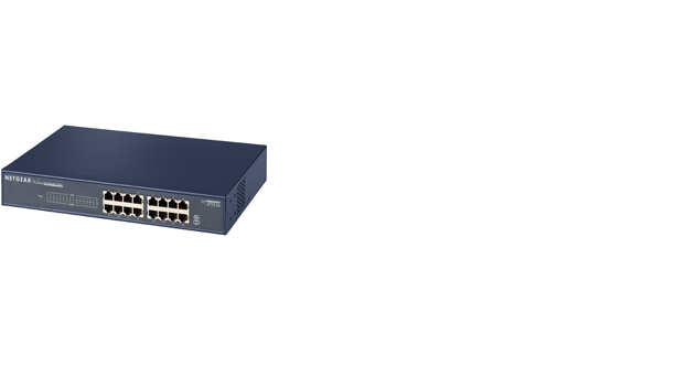 ProSafe™ 16 Port 10/100 Rackmount Switch