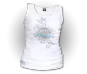 Ladies Monarch Seal Tank-White
