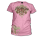 Ladies Unrestricted T-Shirt-Frost Pink