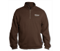 1/4 Zip Nikon Sweatshirt-Brown