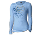 Ladies Monarch Bird L/S Tee