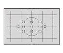 Type E Brite View, Grid, AF Brackets, 12mm CW Circle