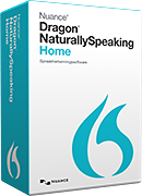 Computer Software Dragon NaturallySpeaking 13 Home - Nuance Officiële Webwinkel