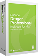 NEW Dragon Professional Individual for Mac, v6 Upgrade (from Dragon for Mac 5 and Dragon Dictate 4)