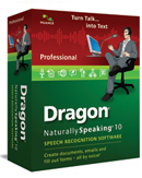 Dragon NaturallySpeaking 10 Professional