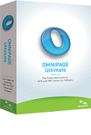 Nuance OmniPage Ultimate PDF OCR Software download