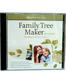 Family Tree Maker - free w/ DNS 11.5 Premium emails