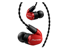 SE-CH5TR In-Ear Hi-Res Audio Headphones (Red)
